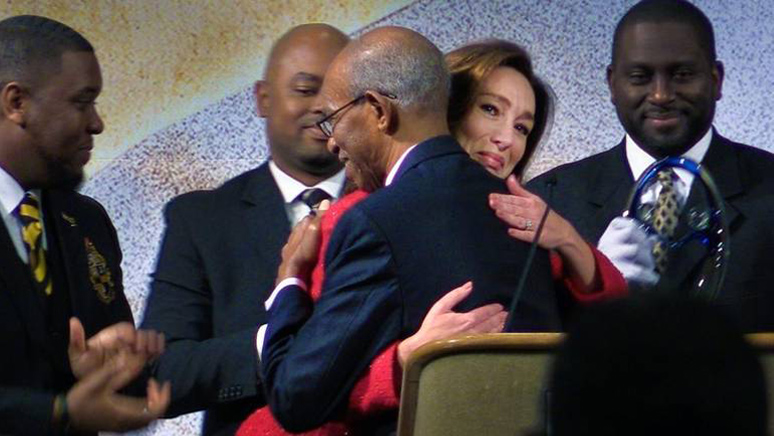 'I Am One Of You': Winning Annual MLK Award Brings Mayor Tomlinson To Tears