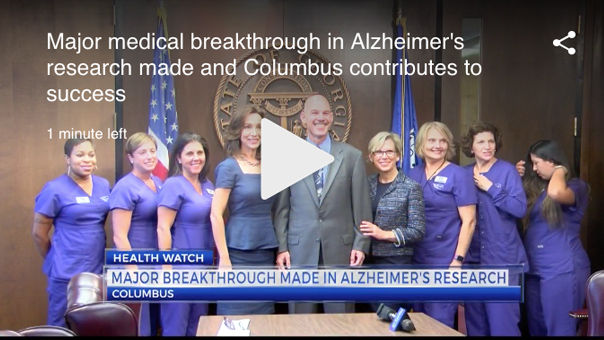 Columbus, Ga Plays Role In Significant Alzheimers Research, Leads To Breakthrough